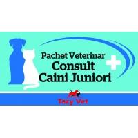 Voucher Pachet Veterinar Caini Juniori Tazy Vet