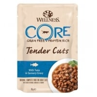 Hrana Umeda Wellness Core Cat Tender Cuts cu Ton, in Sos, 85 g