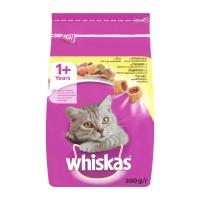 Whiskas Adult cu Pui si Ficat, 300 g