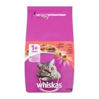 Whiskas Adult cu Vita si Ficat, 1.4 kg