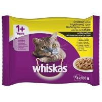 Whiskas Plic Selectii Pasare Adult, 4 X 100 g