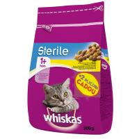 Whiskas Sterile cu Pui, 1.4 kg + 2 Plicuri Cadou