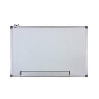 Whiteboard magnetic cu rama din aluminiu, 100 x 150 cm, Optima