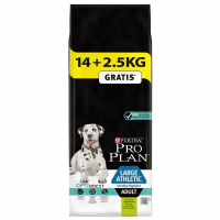 Pro Plan Adult Large Breed Athletic cu Miel, 14 kg + 2.5 kg Gratis