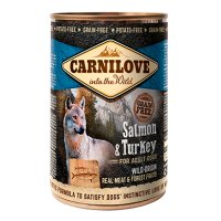 Carnilove Dog Adult Somon si Curcan, 400 g