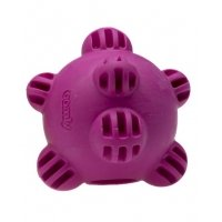 Jucarie caini Comfy Snack Ball Mov 8.5 cm