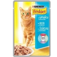 Friskies Cat Adult cu Somon in sos, 100 g