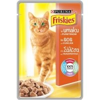 Friskies Cat Adult, Curcan in sos, 100 g