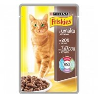 Friskies Cat Adult, Ficat in sos, 100 g