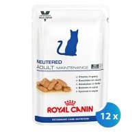 Pachet Royal Canin Neutered Adult Maintenance 12 x 100 g