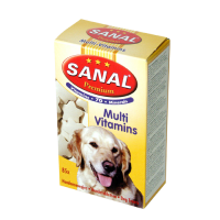 Supliment Nutritiv Sanal Dog Multi Vitamins 85 tablete