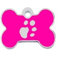 Medalion Tag Os Labute L Silver/Pink