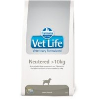 Vet Life Dog Neutered >10 Kg, 10 kg