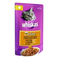 Whiskas Delice Adult Curcan 85 g