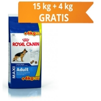 Royal Canin Maxi Adult, 15 kg + 4 kg Gratis