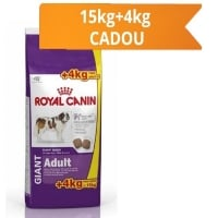 Royal Canin Giant Adult 15kg + 4kg Gratis