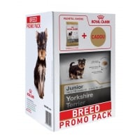 Kit Breed Royal Canin Yorkshire Junior, 1.5 kg + o Paturica Cadou