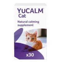 LINTBELLS Yucalm Cat, suplimente calmante pisici, 30 tbl