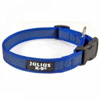 Zgarda IDC Julius K9, Din Nylon, 20 mm, Albastru