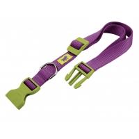 Zgarda Club Violet latime 2.5 cm lungime 70 cm
