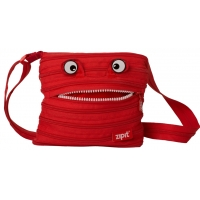 Geanta de Umar  Monsters Mini Zip...It, Rosu Aprins