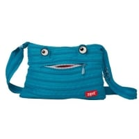 Geanta de Umar Monsters Zip...It, Turcoaz Bleu
