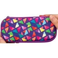Penar cu fermoar, ZIP..IT Colorz box, Triunghiuri Violet