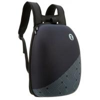 Rucsac ZIP..IT Shell - negru cu design cu dungi negre