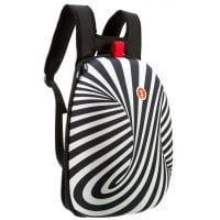 Ghiozdan ZIP..IT Shell, Zebra