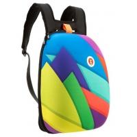 Rucsac ZIP..IT Shell, Triunghiuri Culori Asortate