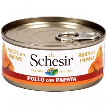 Schesir Dog Fruit Pui si Papaya 150g