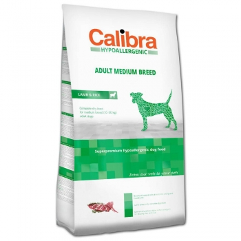 Calibra Dog HA Adult Medium Breed Lamb 14 kg imagine