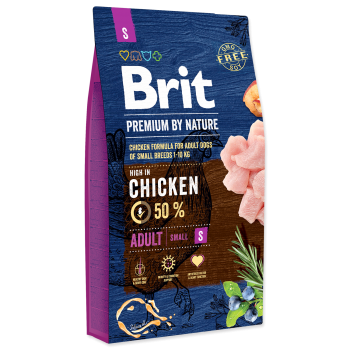 Brit Premium by Nature Adult S, 8 kg