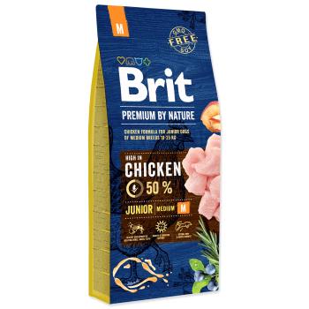 Brit Premium by Nature Junior M, 3 kg imagine
