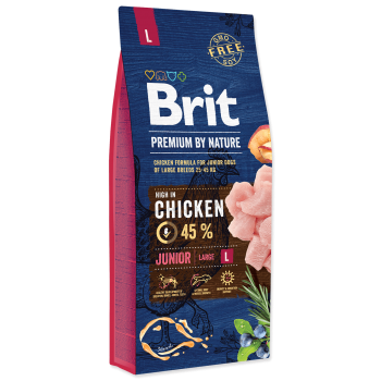 Brit Premium by Nature Junior L, 15 kg