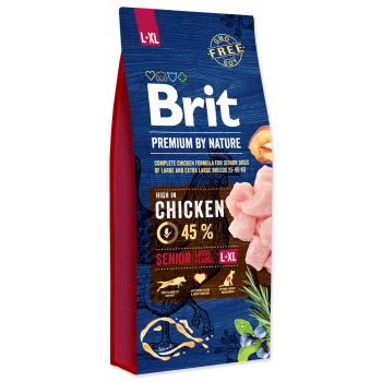 Brit Premium by Nature Senior L-XL, 3 kg