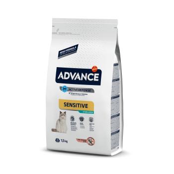 Advance Cat Sterilizat Sensitive Somon, 1.5 kg imagine