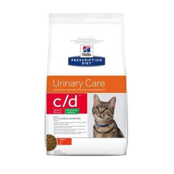 Hill's PD Feline c/d Reduced Calorie cu Pui, 8 kg