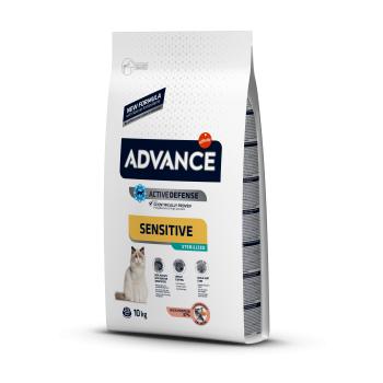 Advance Cat Sterilizat Sensitive Somon, 10 kg imagine