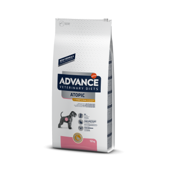 Advance VD Dog Atopic Care Fara Cereale, Iepure si Mazare, 12 kg