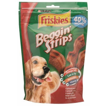 Friskies Beggin' Strips, 120 g imagine