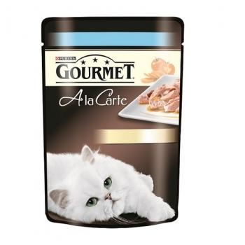 Gourmet A La Carte cu Pastrav si Legume, 85 g