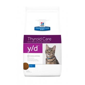 Hill's PD Feline y/d - Tulburari ale Glandei Tiroide, 5 kg