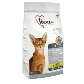 1st Choice Cat Adult, Hypoallergenic, 2.72 Kg imagine