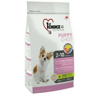 1st Choice Dog Puppy Toy And Small Breeds, Skin and Coat, 2.72 kg imagine