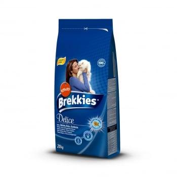 Brekkies Cat Excel Delicious cu Peste, Legume Si Cereale, 20 kg