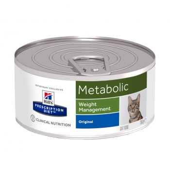 Hill's PD Feline Metabolic - Obezitate, 156 g