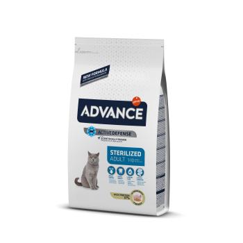 Advance Cat Adult Sterilised cu Curcan 3 kg