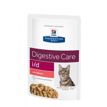 Hill's PD Feline i/d - Probleme Gastrointestinale Somon, 85 g