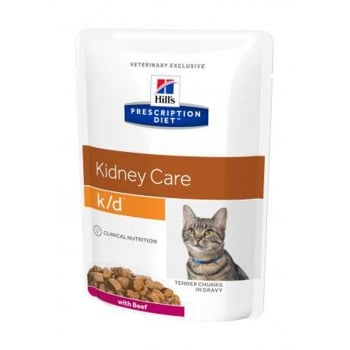 Hill's PD Feline k/d - Afectiuni Renale Vita, 85 g